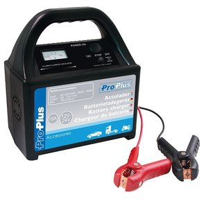 ProPlus Acculader 12/24 volt 15 Amp