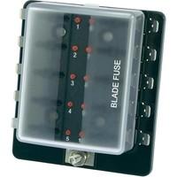 Zekeringhouder met LED Alarm