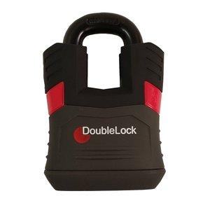 DoubleLock Padlock Red