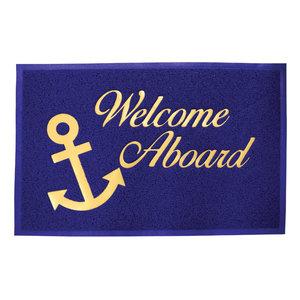Lalizas Vloermat 'Welcome Aboard'