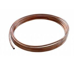 Koperen gasleiding 8 mm
