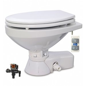 Jabsco Quiet flush stil regular elektrisch toilet met solenoid