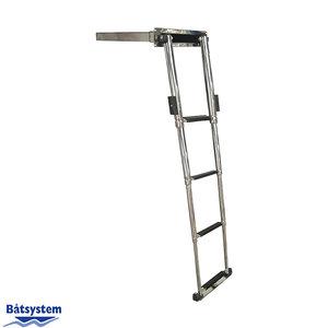 Båtsystem telescopische ladder 4 treden plastic