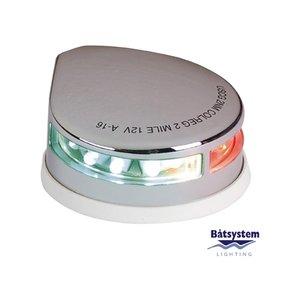 Båtsystem LED combinatielicht Rood/Groen RVS