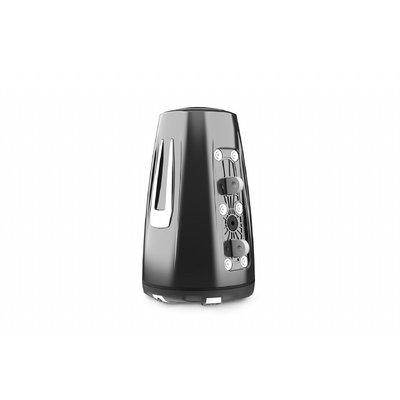 Fusion SG-FLT772SPC 7.7'' Sports Grey Chrome Tower Speaker , CRGBW LED
