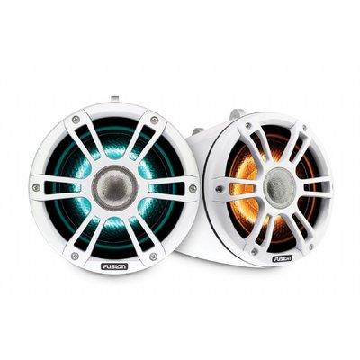 Fusion SG-FLT772SPW 7.7'' Sports White Tower Speaker CRGBW LED