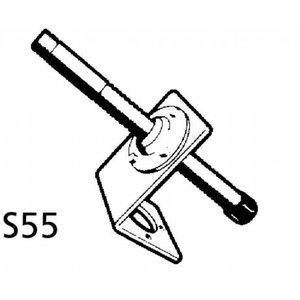 Haakse spiegelbevestiging S55