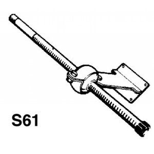 Ultraflex Spiegelbevestiging S61