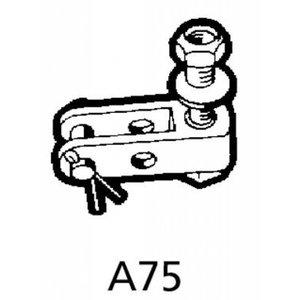 Ultraflex A75 vorkeind voor stuurkabels met oog.