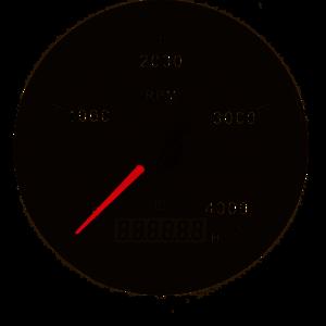 Vetus Toerental en Urenteller 12V/24V