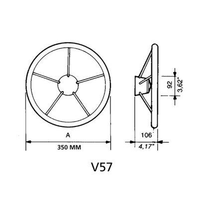 Ultraflex stuurwiel V57