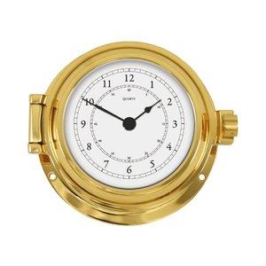 Scheepsklok/ Barometer