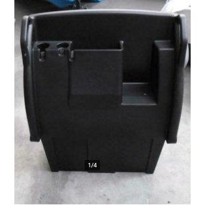 Whaly Stuurconsole hoog model zonder stuursysteem kleur zwart Whaly 500