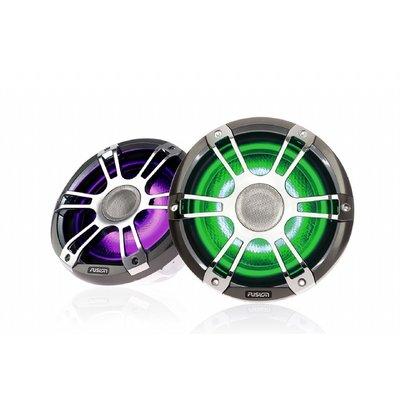 Fusion SG-FL652SPC 6.5'' Speakers 2Way SIGNATURE CHROME SPORT GRILLE CRGBW LED