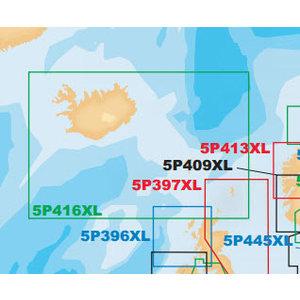 Navionics PLATINUM+ MSD - 5P416XL ICELAND TO FAEROE I.