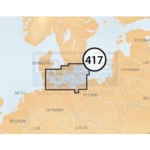 Navionics PLATINUM+ MSD - 5P417XL GERMANY E./SWEDEN S.