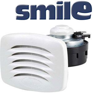 Marco Smile ingebouwde hoorn met witte grill 12V