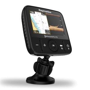 "Raymarine Dragonfly 5Pro fishfinder 5"" display met CHIRP Downvision en Sonar, Wi-Fi en GPS cartografie eenheid, incl CPT-DVS transducer"