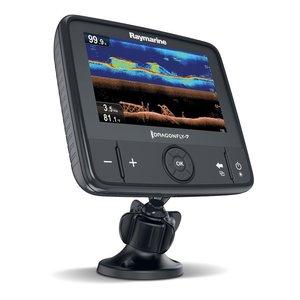 "Raymarine Dragonfly 7Pro 7"" Sonar GPS met ingebouwde DownVision™.Incl CPT-DVS spiegelmontagetransducer met 6 mtr kabel (zonder cartografie)"