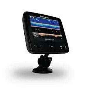 """Raymarine Dragonfly-7 Pro 7"""" Sonar GPS met ingebouwde Down Vision & CPT-DVS spiegelmontage transducer, ROW CMAP Essentials kaart"""