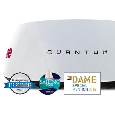 Raymarine Quantum Q24C 45 cm radar met 10mtr voedingskabel en 10mtr datakabel