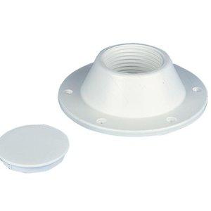 Basis voor tafelpoot met schroefdraad