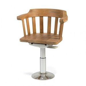 Stuurzitting met verstelbare stoelpoot