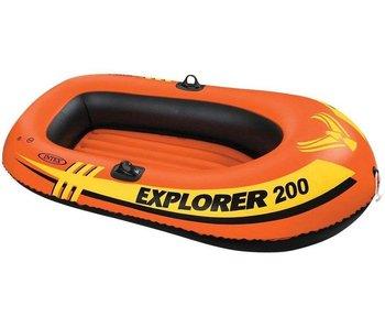 Intex Opblaasboot Explorer Pro 200 Tweepersoons