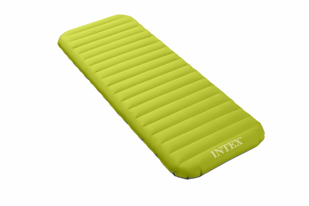 Intex Luchtbed Jr. Twin Roll'n Go Eenpersoons