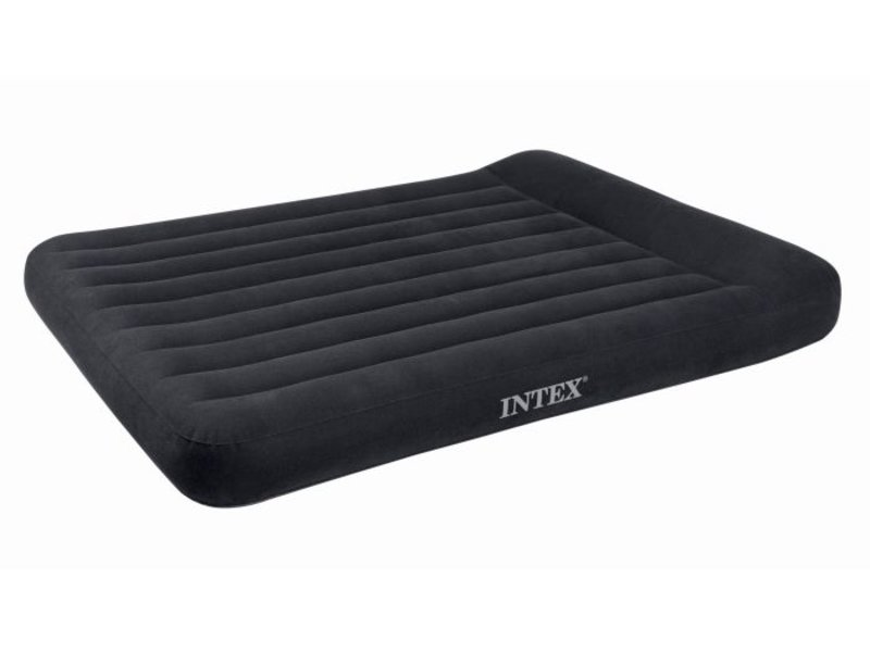 Intex Luchtbed Queen Pillow Rest Classic Tweepersoons ( incl. Motorpomp )