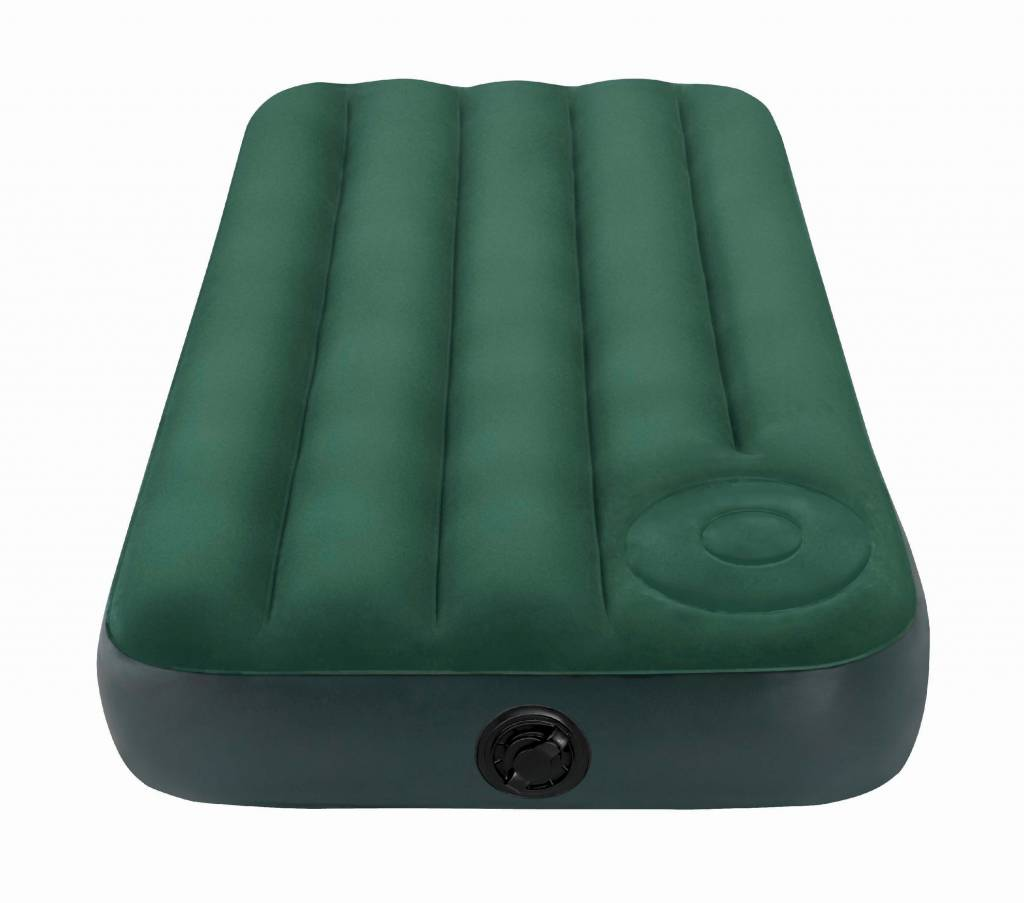 Intex Luchtbed Jr. Twin Downy Airbed Kit Eenpersoons