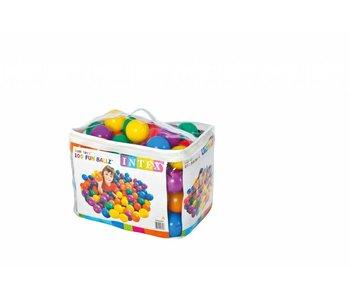 Intex Speelballen 100 stuks (3 jaar - 8 cm)