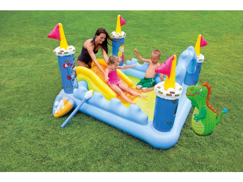 Intex Opblaasbaar Speelzwembad Fantasie Kasteel (2+ Jaar)