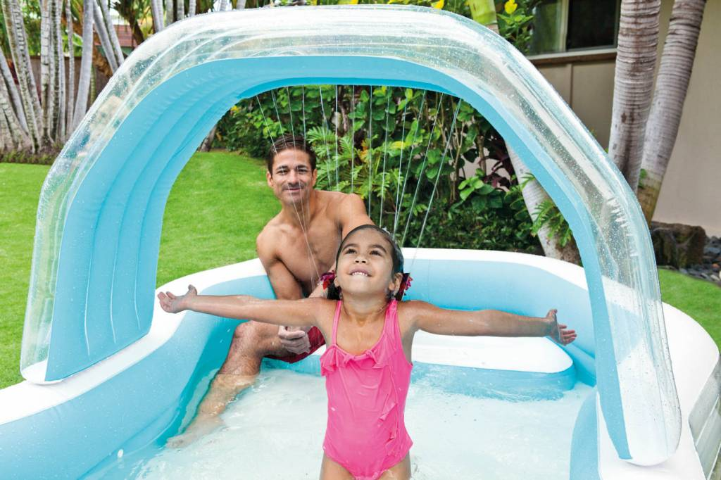 Intex Opblaasbaar Zwembad Cabana (3+ Jaar)