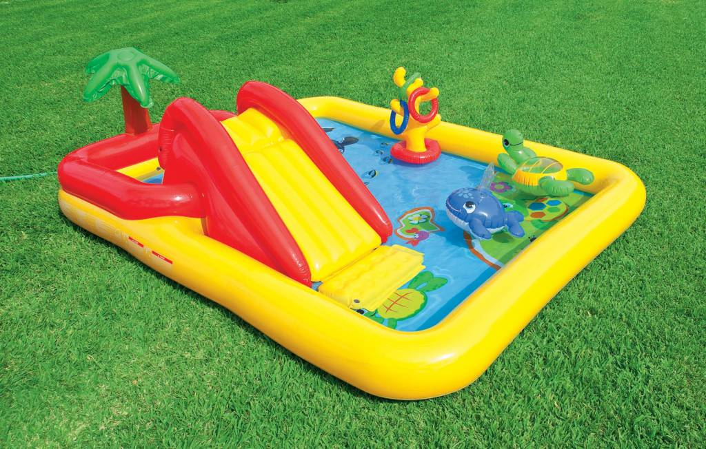 Intex Opblaasbaar Speelzwembad Oceaan (3+ Jaar)