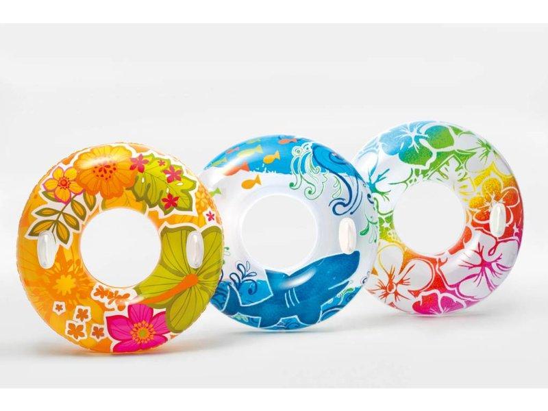 Intex Zwemband Transparante Met Bloemendesign