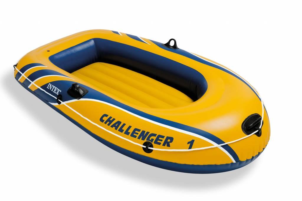 Intex Opblaasboot Challenger 1 Eenpersoons
