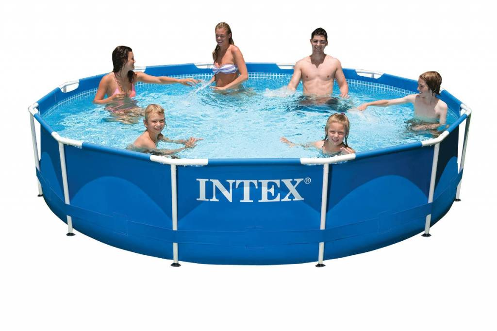 Intex Zwembad Metal Frame 366 x 76 cm