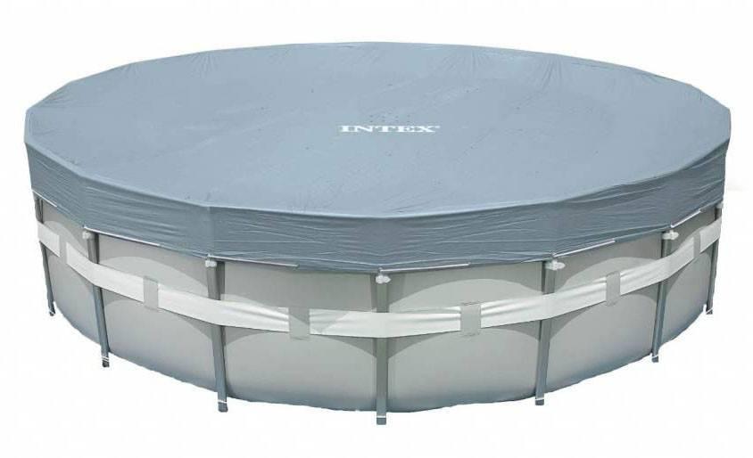 Intex Zwembad Afdekzeil Deluxe 549 cm