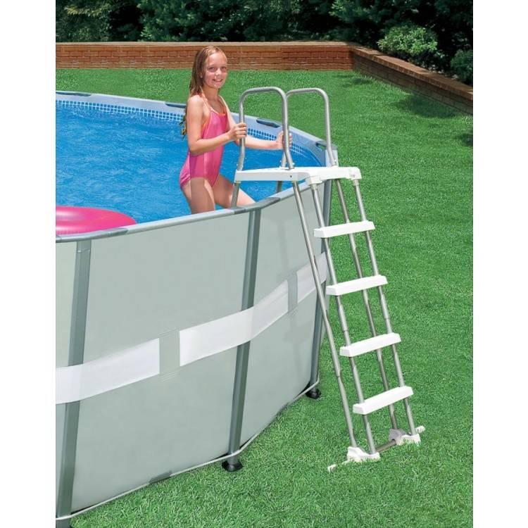 Intex Zwembadtrap Met Afneembare Treden 107 cm
