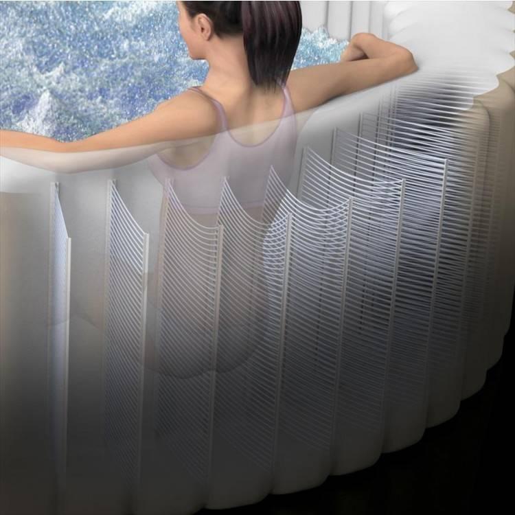 Intex Opblaasbaar Bubbel Spa Rechtoek (4 persoons)