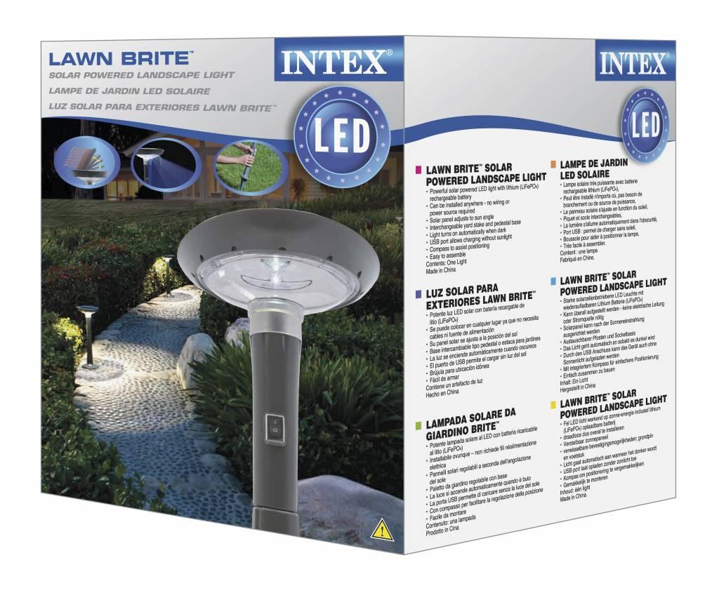 Intex Zwembad Solar Led Lantaarnpaal