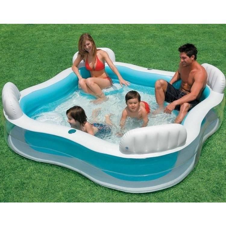 Intex Opblaasbaar Lounge Pool (4 Persoons)