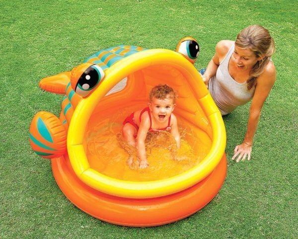 Intex Opblaasbaar Speelzwembad Vis (1-3 Jaar)