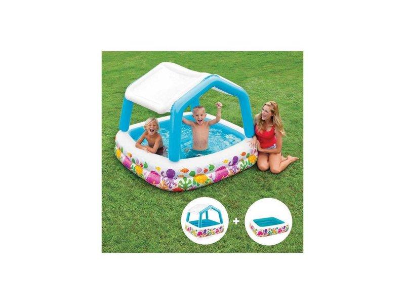 Intex Opblaasbaar Zwembad Met Afdak (3+ Jaar)