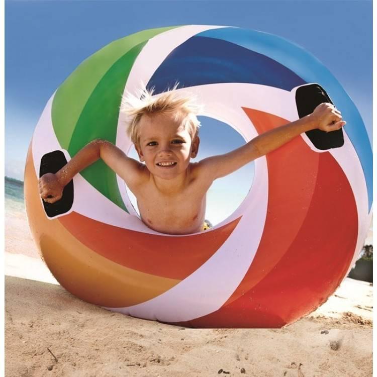 Intex Zwemband Regenboog 119 cm