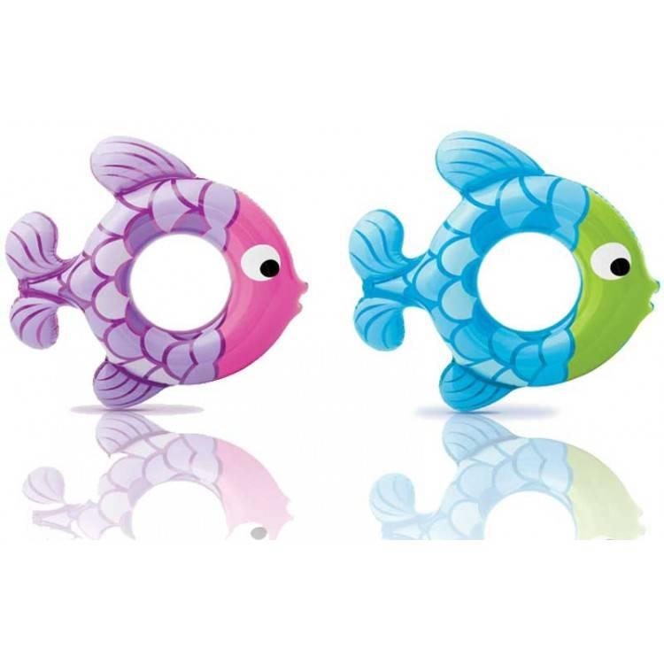 Intex Zwemring Vis