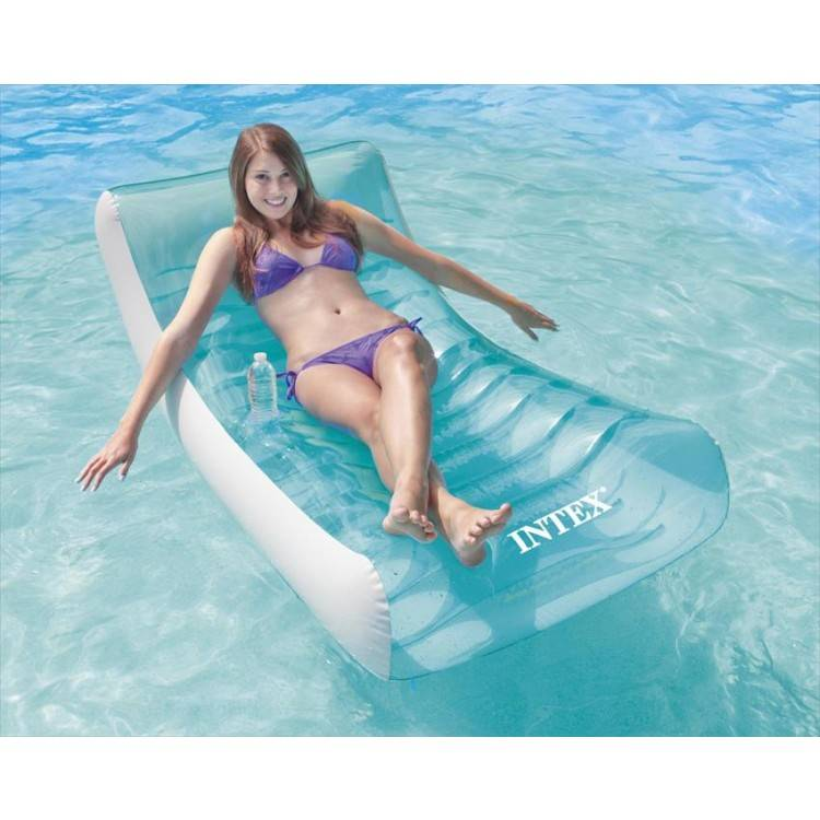 Intex Opblaasbaar Drijf Loungestoel