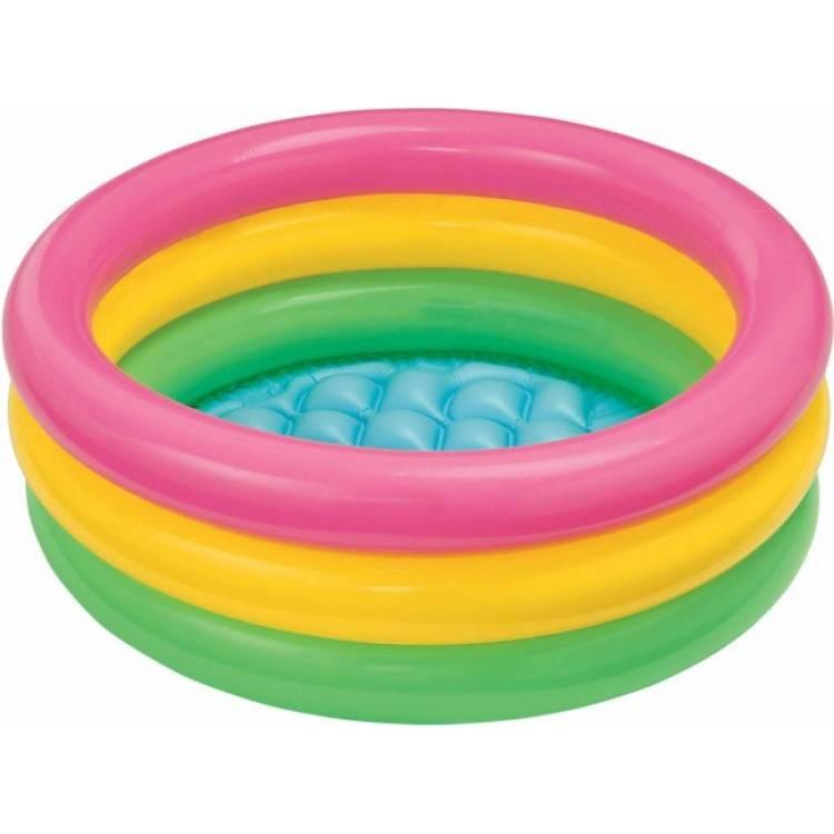Intex Opblaasbaar Baby Zwembad Regenboog