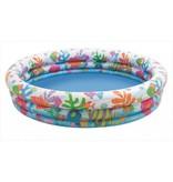 Intex Opblaasbaar Zwembad Met Vissenprint ( Met Bal En Ring )